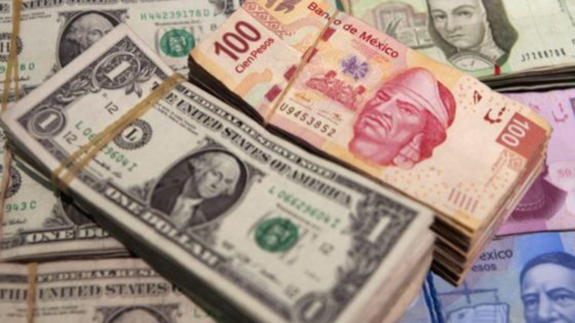 Peso se aprecia; dólar libre cierra en 20.81 pesos