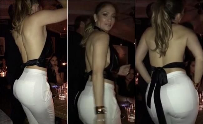 JLo causa furor por sexy baile