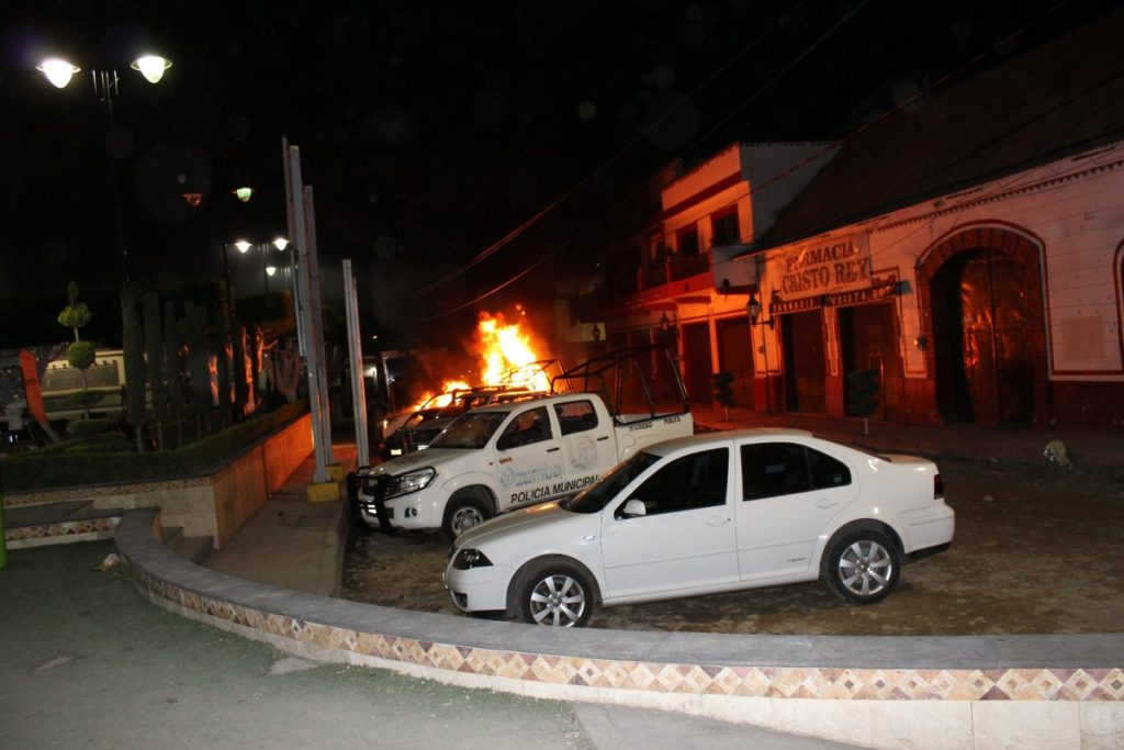 Intentan linchar en Ozumba a presuntos secuestradores