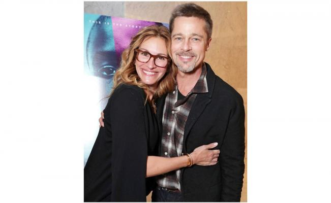 Reaparece Brad Pitt tras separación de Jolie