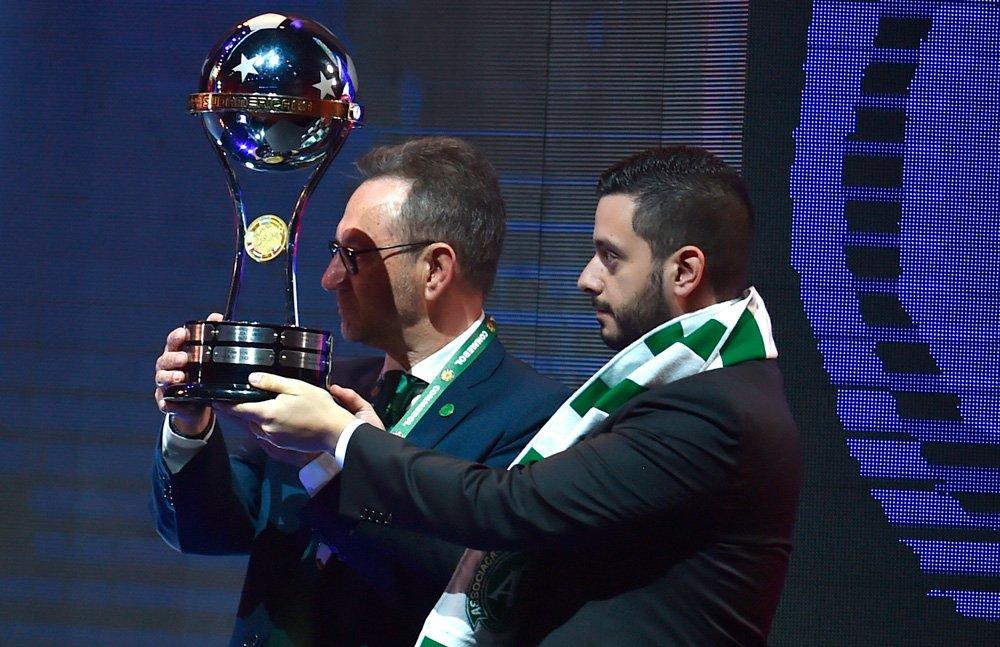 Chapecoense recibbe Copa Sudamericana