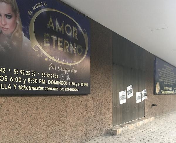 IMPI aplaude acciones contra Teatro San Rafael
