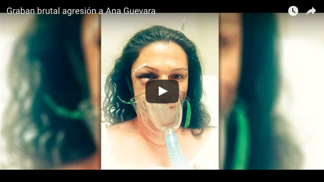 VIDEO | Graban golpiza a Ana Guevara