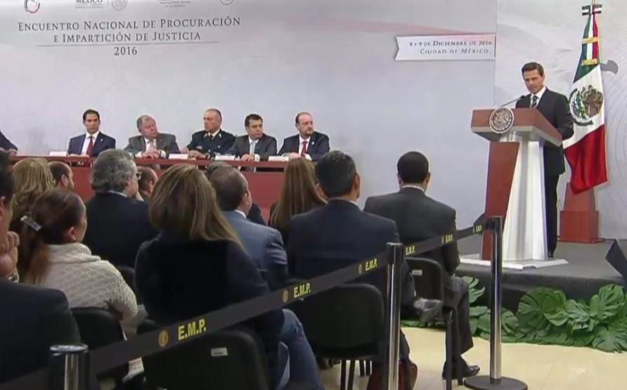 EPN reconoce labor de Fuerzas Armadas