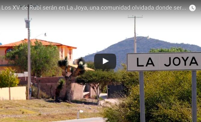 VIDEO | Los XV de Rubí en un pueblo olvidado
