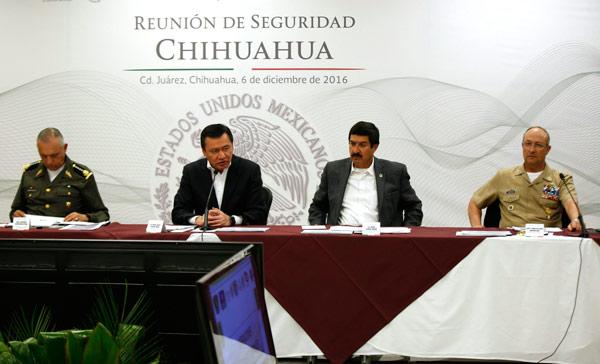 Osorio ofrece en Chihuahua mayor seguridad