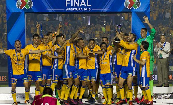 TIgres campeón del Apertura; derrota a América en penales