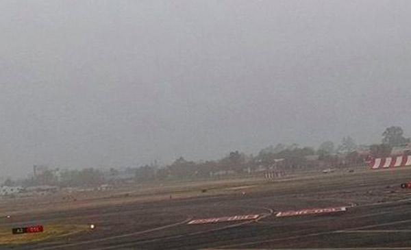 AICM reabre operaciones suspendidas por niebla
