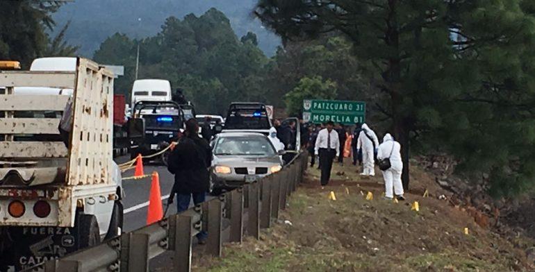 Matan a jefe policial en Ziracuaretiro, Mich