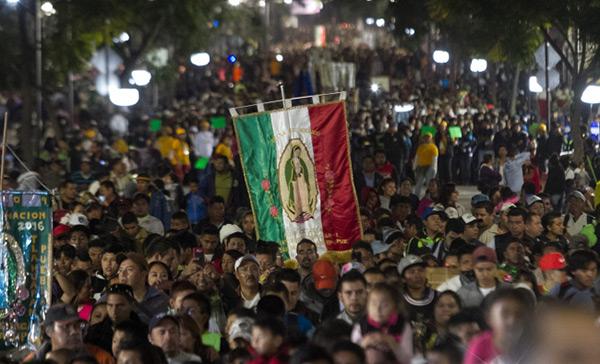 Récord de peregrinos en La Villa: más de 7.1 millones