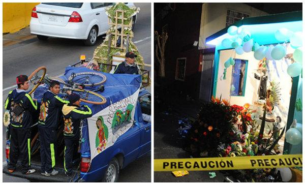 Muere peregrino arrollado en Zaragoza; balean a 6 en Pensil