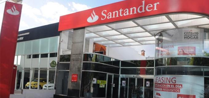Santander invertirá 15 mil mdp en México