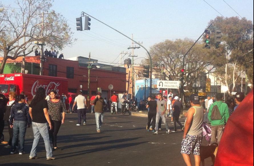 Enfrentamiento en Culhuacán deja 32 lesionados