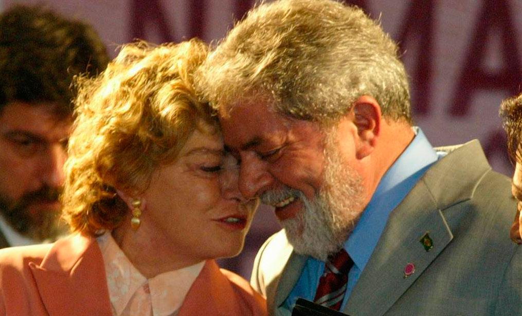 Esposa de Lula sufre derrame cerebral