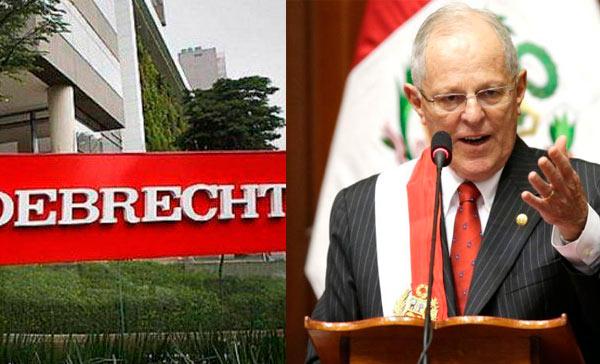 Odebrecht se disculpa con Perú; Kuczynski pide se vaya