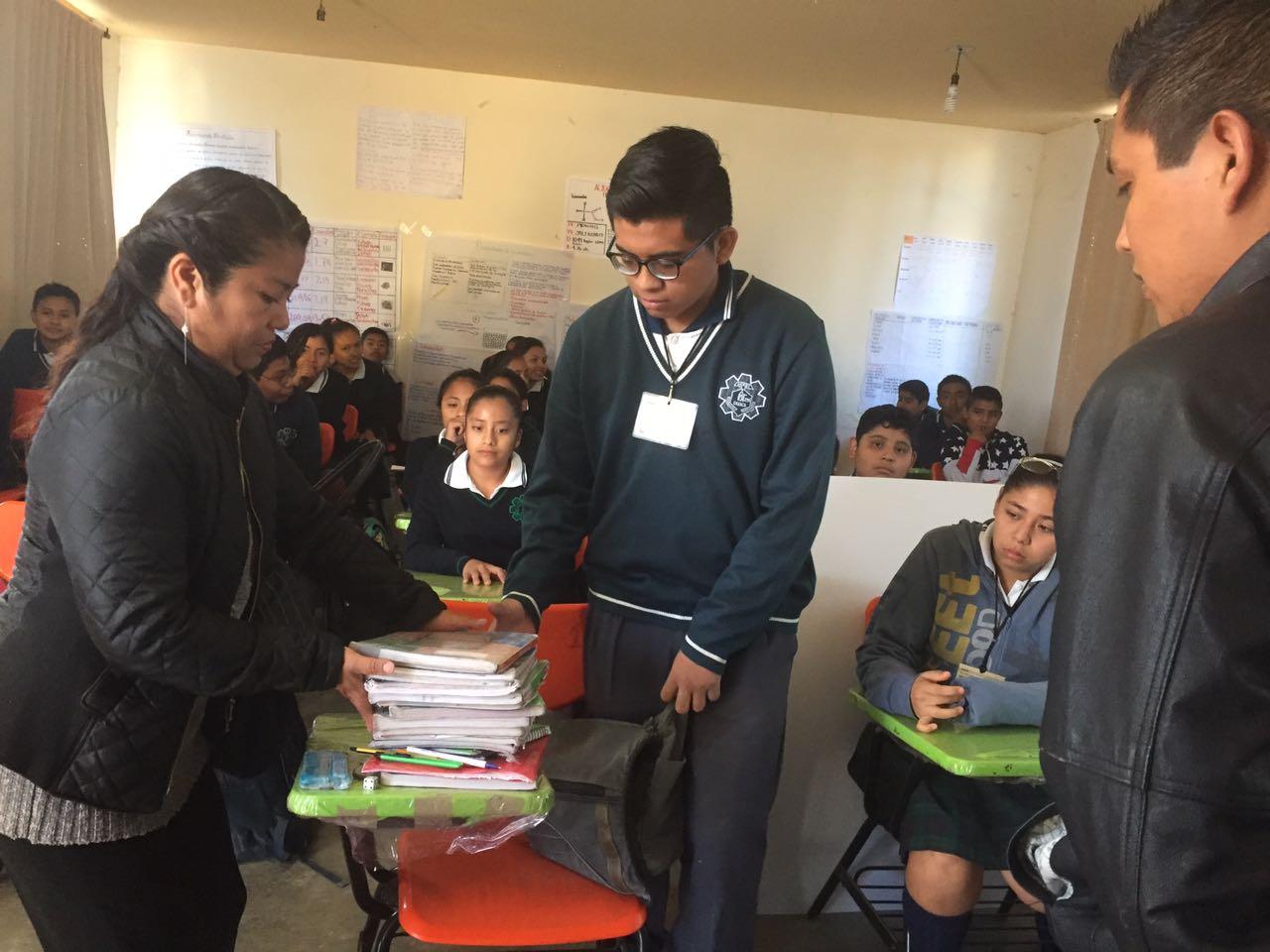 """Oaxaca implementa """"Mochila Segura"""""""