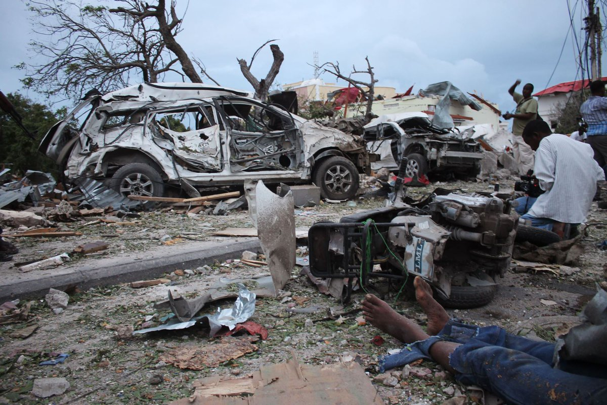Mueren 35 tras atentado en Somalia