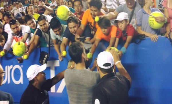 Djokovic emociona a Acapulco