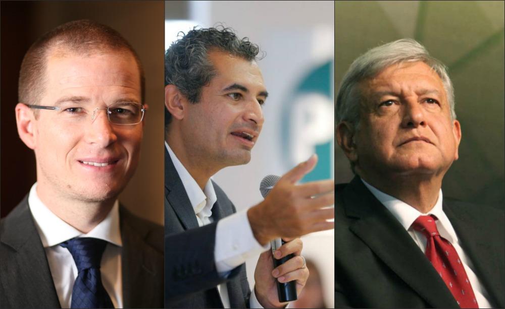 Ochoa, Anaya y AMLO coinciden de gira por EU