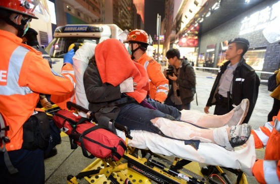 18 heridos por bomba molotov en Metro de Hong Kong