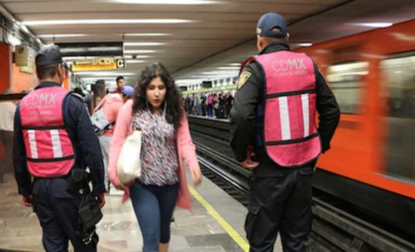 CDMX con acoso de 95% a mujeres en transporte