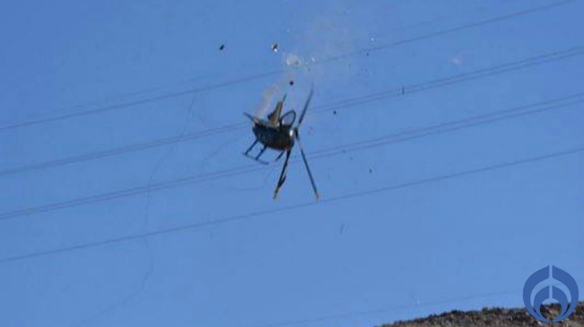 Cae helicóptero de PEP-BC; mueren 4