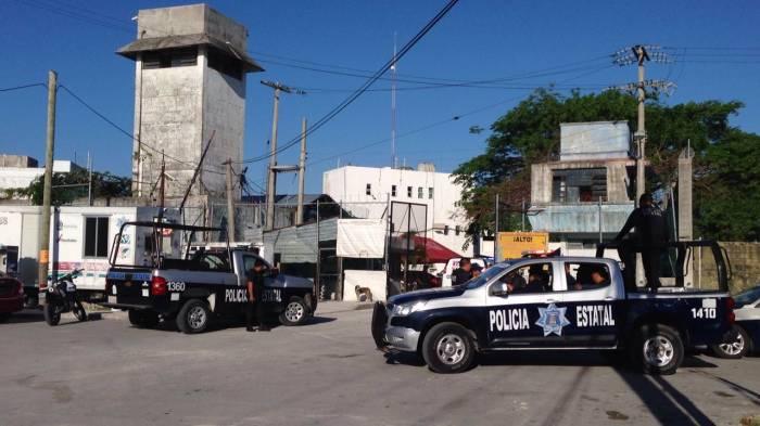 Motín en penal de Cancún deja 4 heridos