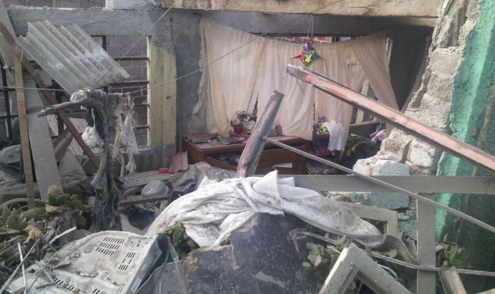 Cuatro muertos deja explosión en Tultepec
