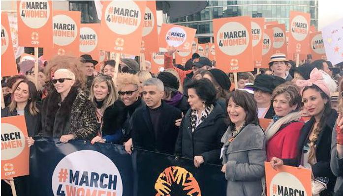Londres se adelanta y marcha por la mujer