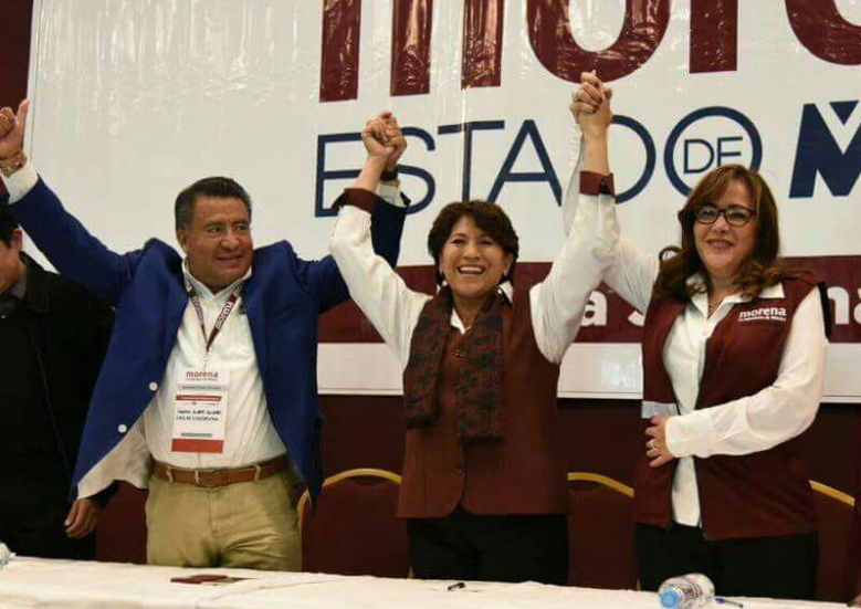 Morena confirma a Delfina candidata a Edomex