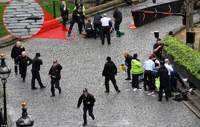 FOTOS Revelan imágenes del atacante terrorista en Londres