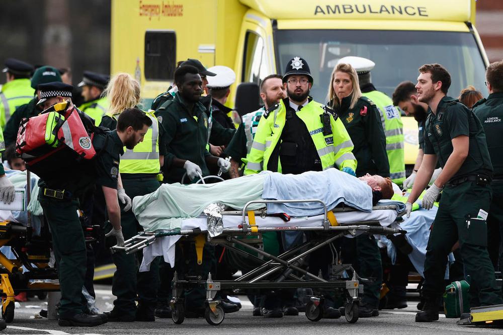 Terror en Londres: 4 muertos y 40 heridos