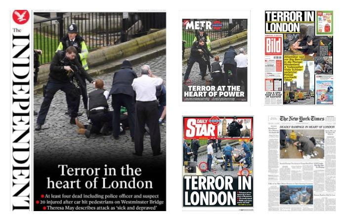 """""""Terror en Londres"""" invade prensa internacional"""