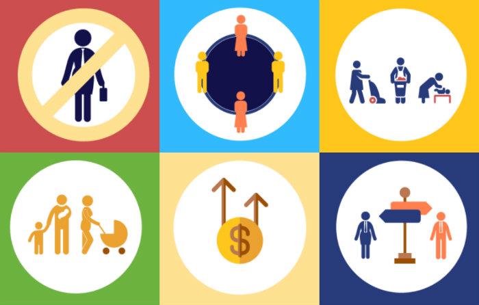 Casi 50% de mujeres tienen empleo con paga