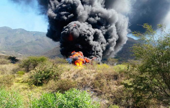 Explota ducto de Pemex en Veracruz; 1 herido
