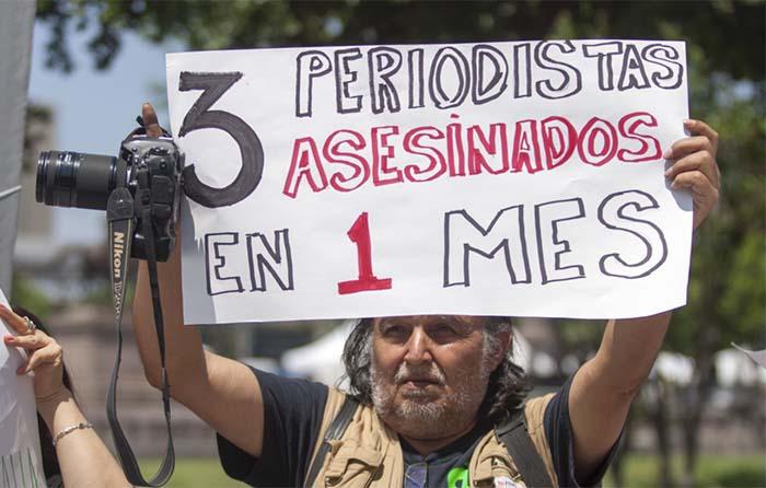 Marzo, mes negro para libre expresión: RSF