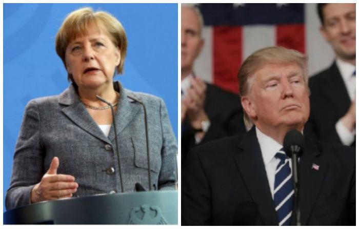 Merkel pospone cita con Trump