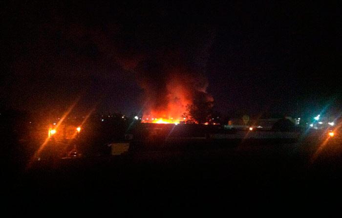Reportan incendio en penal de Cd. Victoria