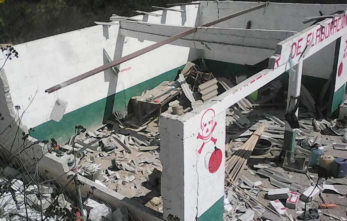 Explota polvorín en Nochixtlán; hay tres lesionados
