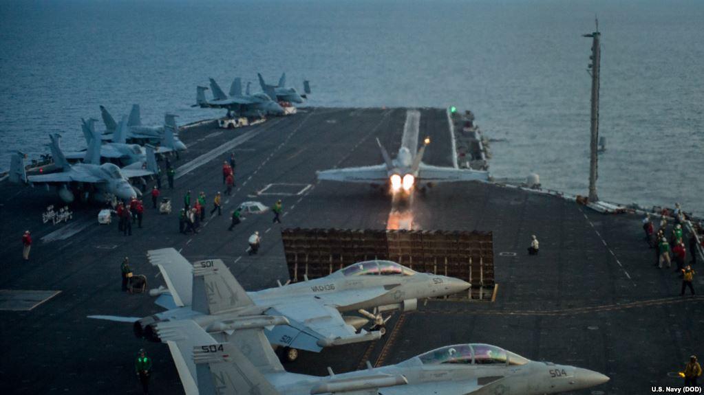 Norcorea amenaza a EU con hundir portaviones