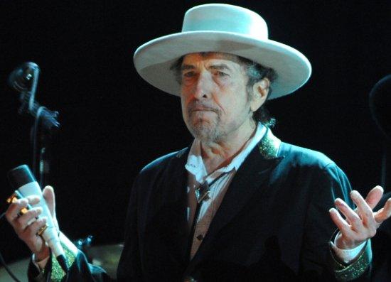 Dylan recibió en privado su Nobel