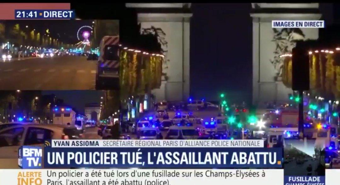 Trump lamenta tiroteo en Paris