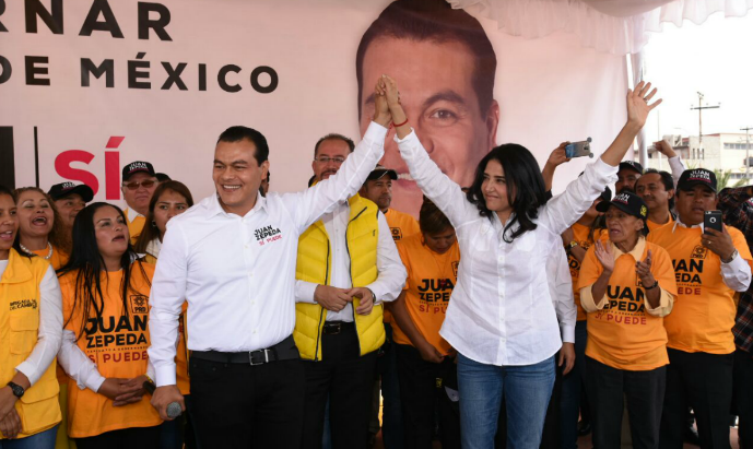 Barrales: presidenta, senadora y… vigilante