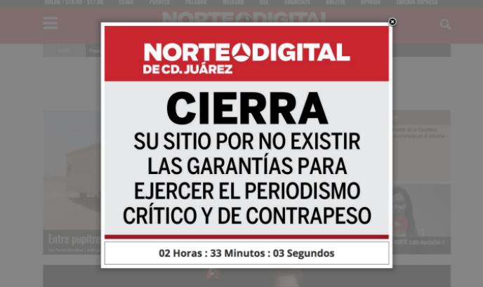 """""""Norte Digital"""", también cierra"""