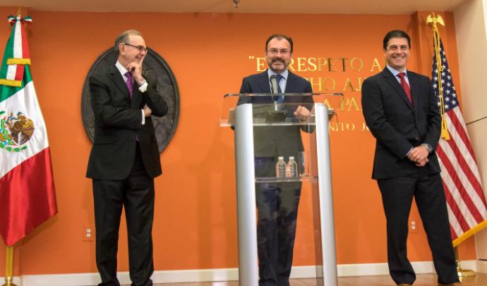 Videgaray se descarta para elección en 2018