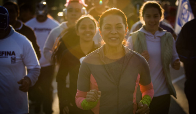 Josefina llama a hacer ejercicio a mexiquenses