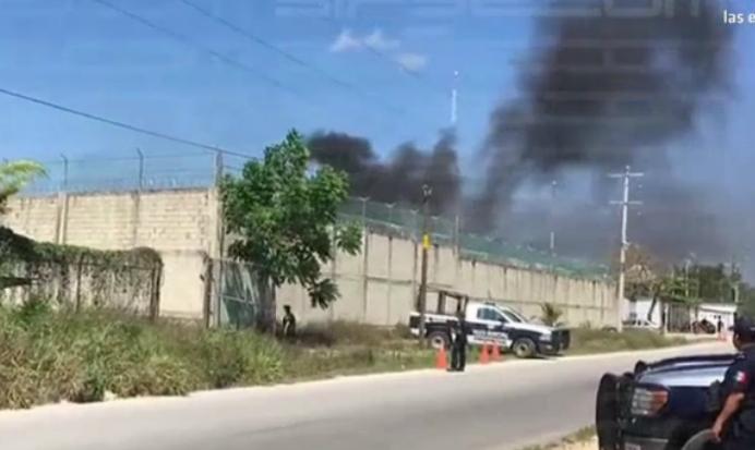 Riña en penal de Playa del Carmen deja 21 heridos