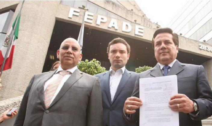 PAN denuncia a Delfina y Cadena ante Fepade