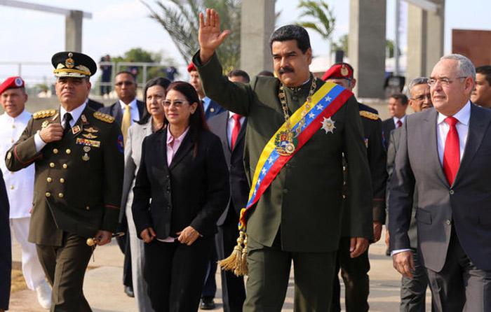 Detienen a 5 por agresión a Maduro en desfile
