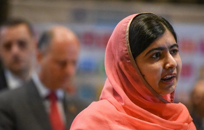 Malala es desde hoy mensajera de paz de ONU
